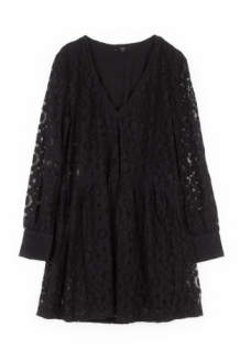 ALIX The Label Jurk Zwart Kant | Dress Black Lace