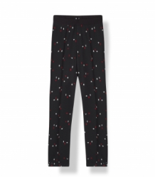 Broek ALIX The Label Graphic Zwart | Trousers Graphic Print Pants Black