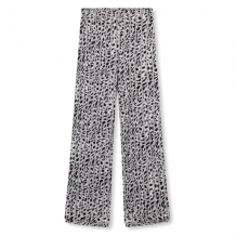 Broek ALIX The Label Striped Leopard Pants Off White