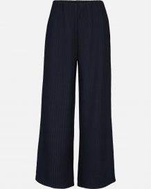 Broek MSCH Jennie Ankle Pants Outer Space Navy