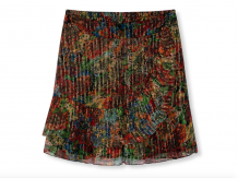 Rok ALIX The Label Flower Lurex Multicolour Skirt