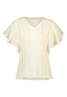 Top AAIKO Amsterdam Benton Lurex Raw White